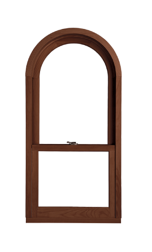 Marvin Ultimate Double Hung Next Generation Round Top Window