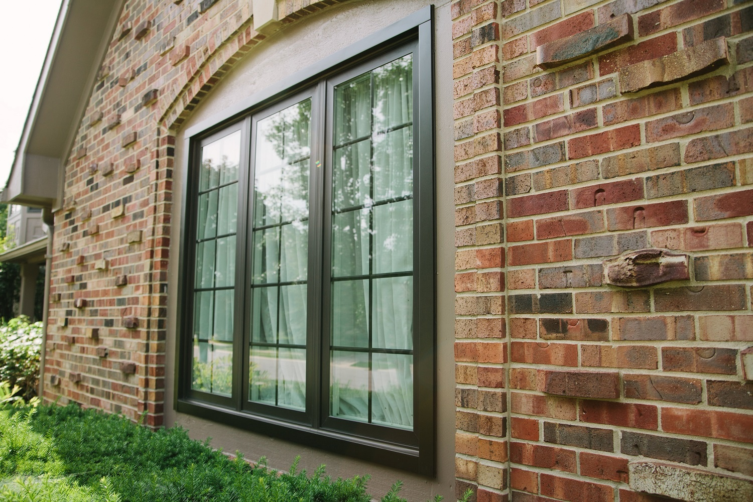 Replacement Windows Integrity Fiberglass Bronze Carmel-Franklin Window And Door
